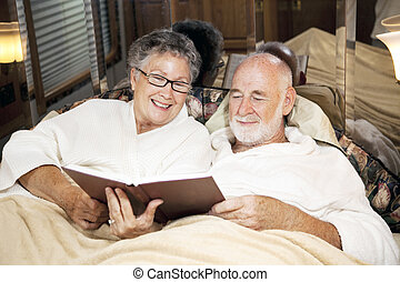 Reading Together at Bedtime