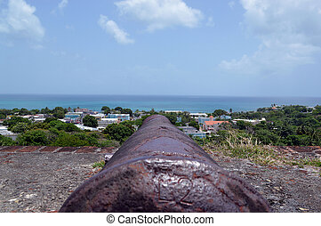 Ready, Aim, WAIT, Don't Fire - This is a photo of a cannon...