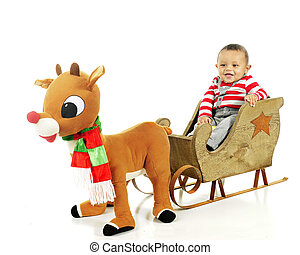 Ready for My Rudolph Ride
