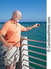Ready to Bait Fishing Hook