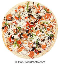 Ready to bake supreme pizza -whole
