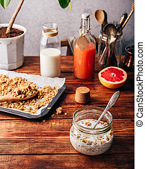 Ready to eat granola - Ready to eat homemade granola with ...