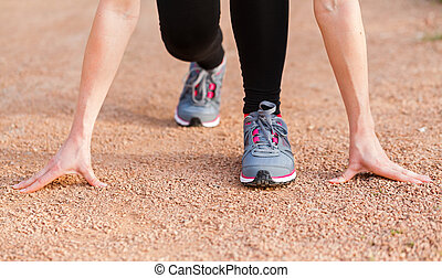 Ready to start - The beneficial effects of the run for a...