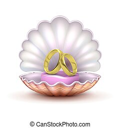 Stil Illustration Ikone Symbol Ringe Freigestellt Accessoirs
