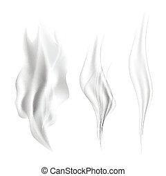 realístico, set., fumaça