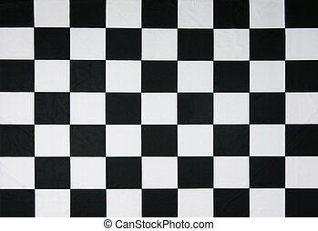 Real checkered flag - This is a real checkered flag of high...