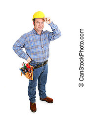 Real Construction Worker - Tips Hat