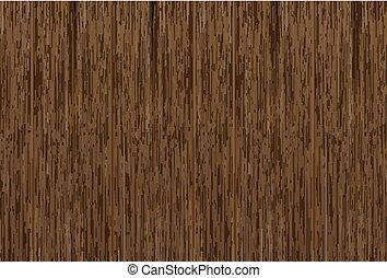 real dark brown wood board wallpaper vector