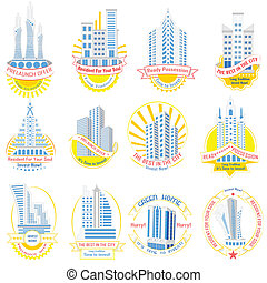 Real Estate Advertisment - easy to edit vector illustration...