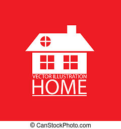 real estate and house icons - Illustration of real estate...