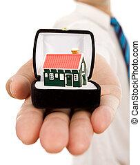 real estate, angebot