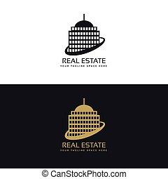 real estate business logo concept