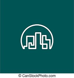 real estate city logo