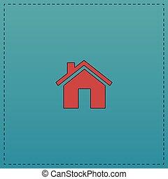 Real Estate computer symbol