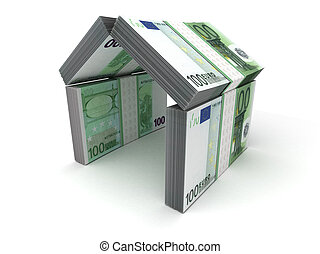 Real Estate Concept Euro