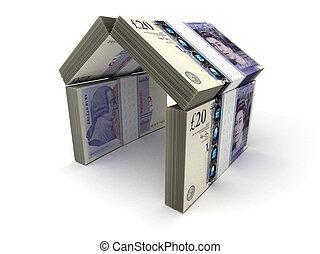 Real Estate Concept Pound