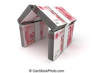 Real Estate Concept Yuan