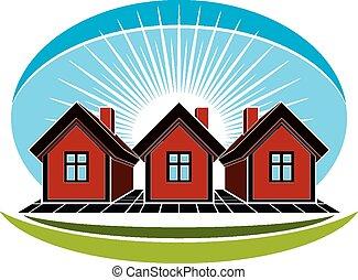 Real estate conceptual picture.