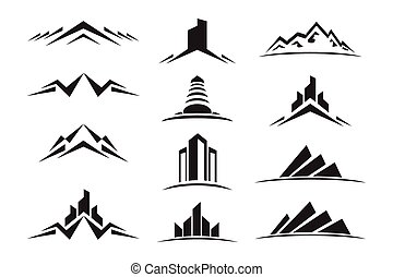 Real Estate & Construction Icon Set