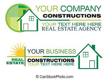 real estate, entwerfen elemente