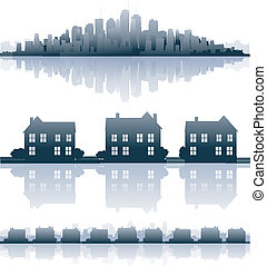 Real estate element city design