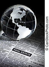 Real Estate - Fake Classified Ad, newspaper, real estate...