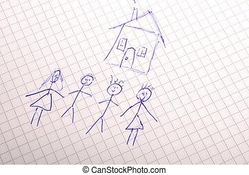 real estate, familie