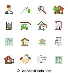 Real Estate Flat Icon