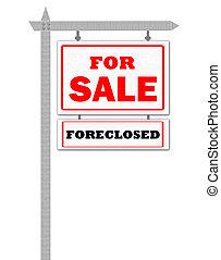 Real Estate For Sale Sign