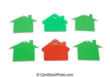 real estate, haus, hintergrund
