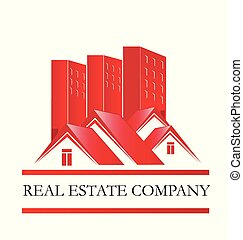 Real estate home sales icon