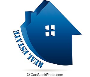 Real estate house business logo