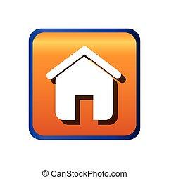 real estate house icon