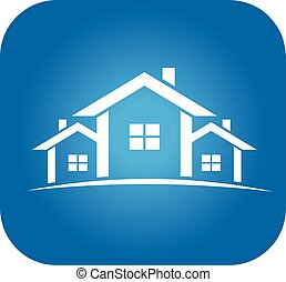 Real Estate Houses for sale logo