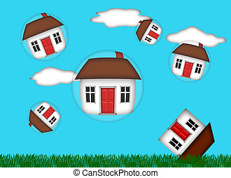 Real Estate Housing Bubble Burst