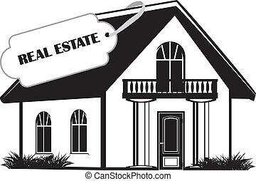 Real estate. Icon for design