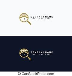 Real estate icon logo vector design