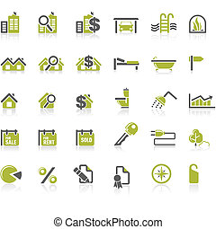 Real Estate icon set
