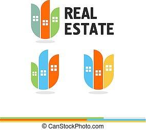 Real Estate. Icon. Vector.