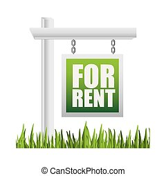 real estate graphic design , vector illustration