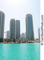 Real estate in Dubai downtown, UAE