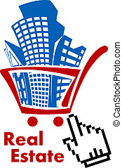 Real estate in shopping cart