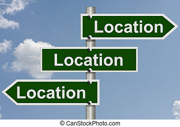 Real estate is all about the location - Real Estate is all...