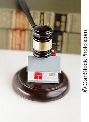 Real estate legal law concept image