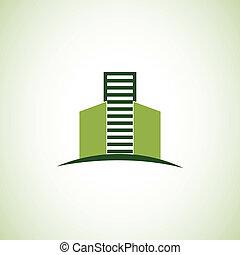 real estate, logo