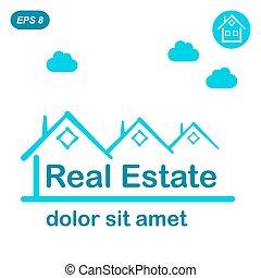 Real estate logo conception