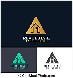 Real estate logo design
