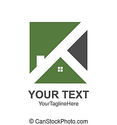Real estate logo designs for business visual identity. House logo template clean, modern and elegant style design