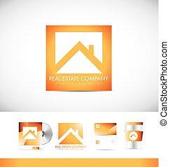 Real estate logo icon design