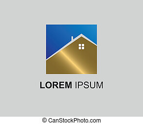 Real estate logo icon